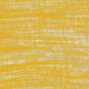 Coarse linen texture- mustard yellow