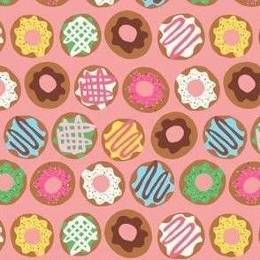 Donut Rows Peach