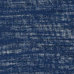 Coarse linen texture- deep navy