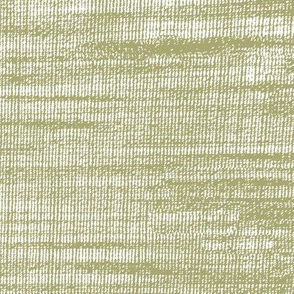 Coarse linen texture- sheer olive