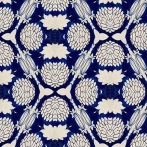 Intense Blue Pattern71