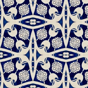 Intense Blue Pattern72