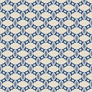 Intense Blue Pattern80