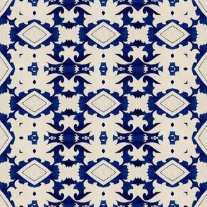 Intense Blue Pattern97