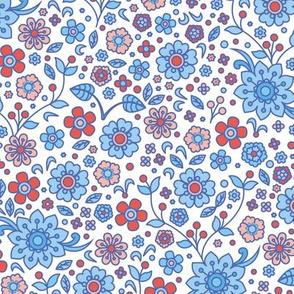 retro flower ♦ variation No 2.