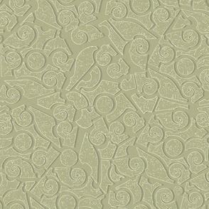 Moonlit Batik - Lillies