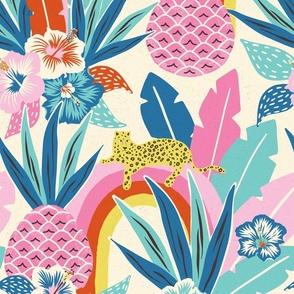 colourful tropical fantasy/jumbo scale