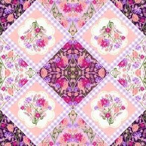 Wildflower Dance Quilt Block