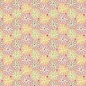 Ditsy Flower Modern Floral
