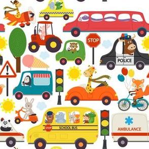 Busy City Zoo Animal Transportation