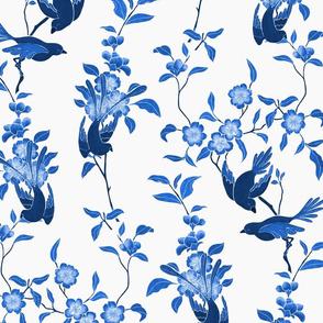 Chinoiserie Blue Birds