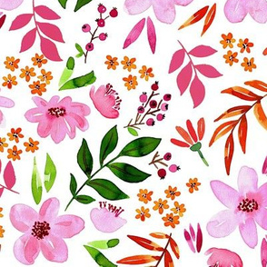Pinky florals