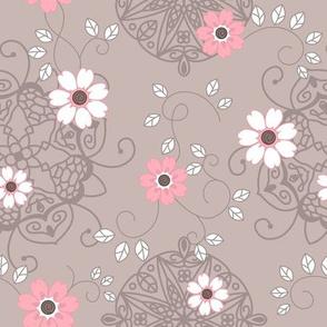 Flowers and mandalas