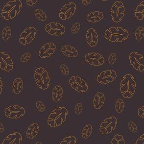 Blauwe veer