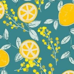 #EllaZitronella Türkis und Zitronen by DIY Eule