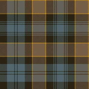 "Campbell of Breadalbane tartan #2, 8"" faded muted"