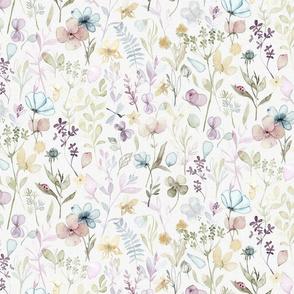 Spring Floral meadow - MEDIUM scale