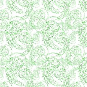 Inkblot Jellyfish Flock (Smallscale) Green