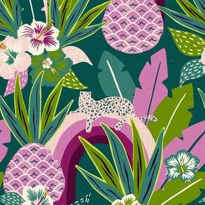 green tropical fantasy/jumbo scale