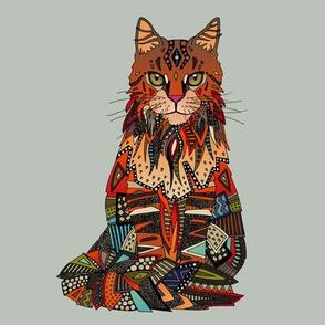 maine coon cat mercury swatch