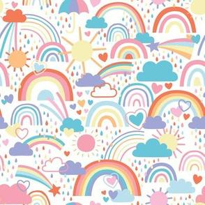 Rainbows and Rain Clouds