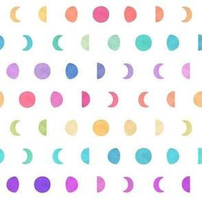 Rainbow Moon Phase Pattern