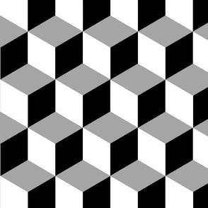 Black & Grey Cubes