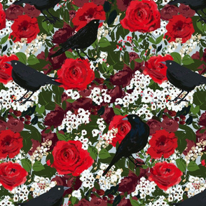 rose and crows