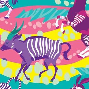 Striped Safari in Brights
