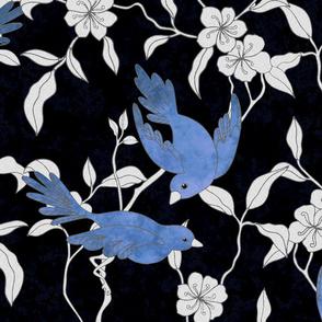 Blue Birds Freize