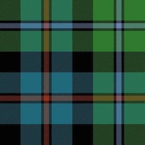 "Campbell of Cawdor tartan #2, 8"" muted"