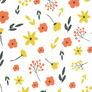 Whimsical florals