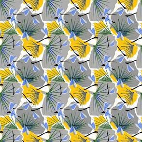 Ginkgo World dragonfly ditsy copy