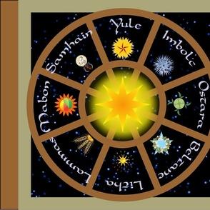 Wheel of the Year Symbols 24inch