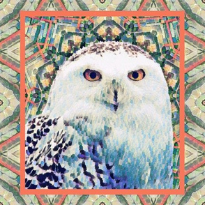 Animalier - Celtic Snowy Owl