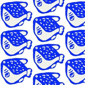 Pufferfish Blue