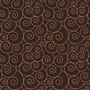 Basic spiral symbols | blush