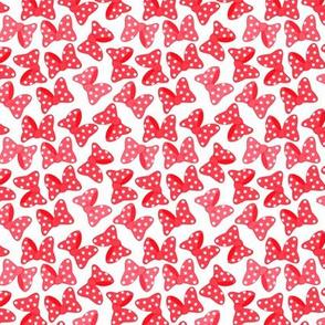 Polka Dot Bows Reds Small
