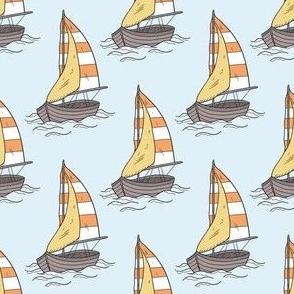 Sail Boat Pattern