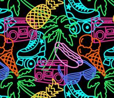 Neon Skate Nostalgia