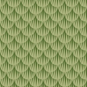 basic sea shells | green