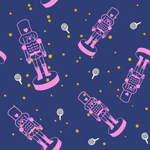 Dog Nutcrackers in Space