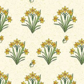 Daffodil pattern-02