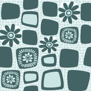 Scandi daisy blocks