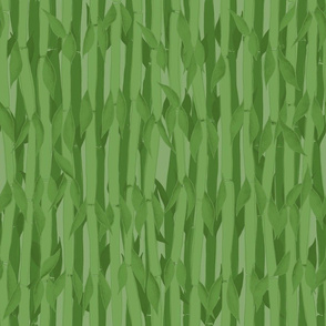 Bamboo Jungle Wall