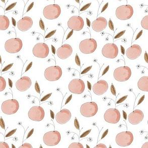 Lemons in bloom- pink