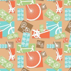 BICYCLE PARTS (TAN)