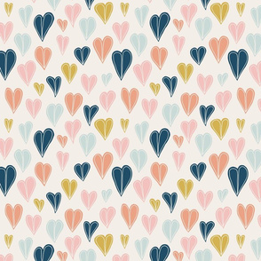 Heart Doodle Pattern 01 (small)