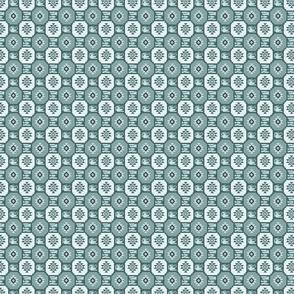textured kilim pine mint sm