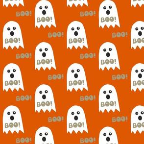 boo Halloween ghosts